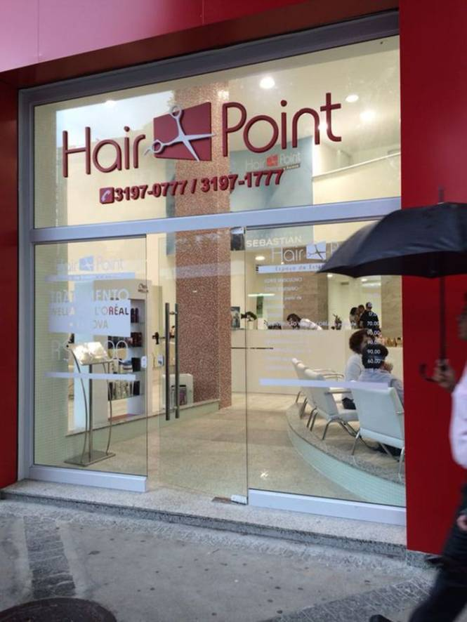 Salão Hair Point Rua Conde de Bonfim 80 Tijuca - RJ