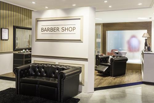 Móveis para salões de beleza masculinos – Baber Shop Maletti