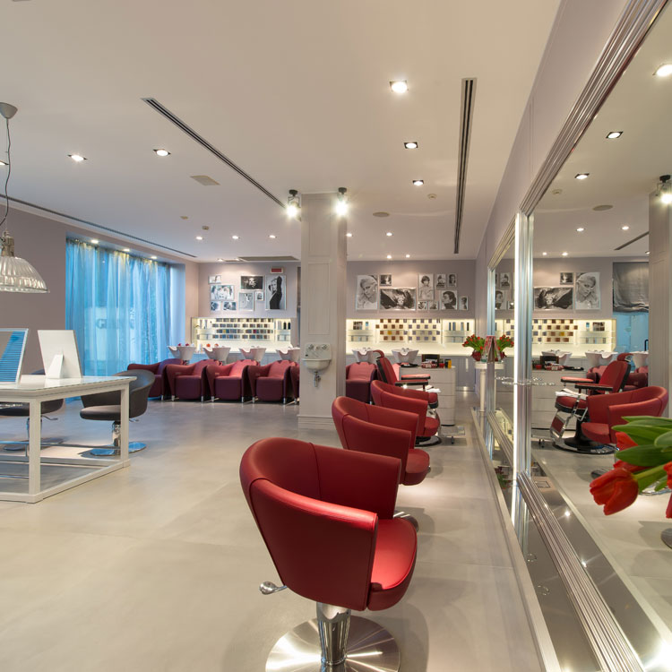 Coleção de móveis para salão de beleza – A Boheme Collection